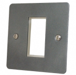 Flat Plate Pewter Data Modules & Data Plates